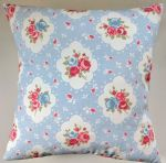 "Cushion Cover in Clarke and Clarke Rosetta in Sky Blue 14"" 16"" 18"" 20"""